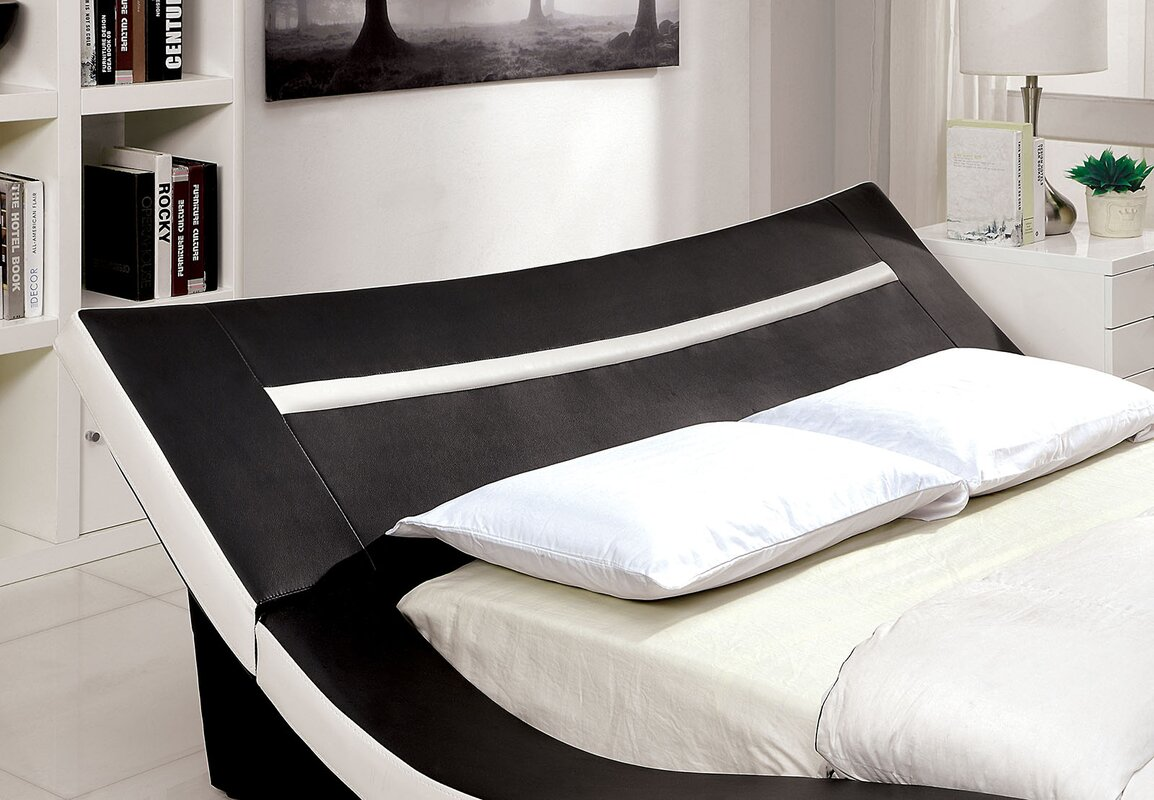 Upholstered Platform Bed By J M Furniture Designs