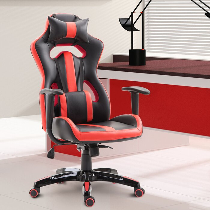 Outstanding High Back Bucket Seat Pc And Racing Game Chair Machost Co Dining Chair Design Ideas Machostcouk