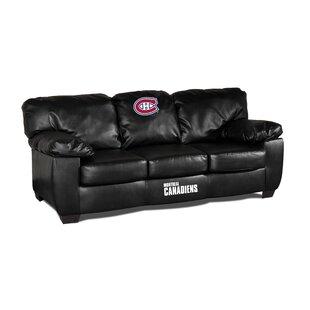 Classic Leather Sofa | Wayfair