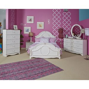 South Shore Tiara Twin Platform Configurable Bedroom Set & Reviews ...