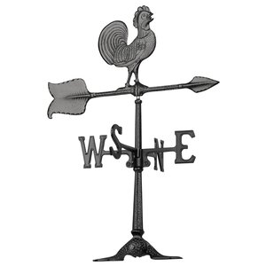 Rooster Accent Weathervane