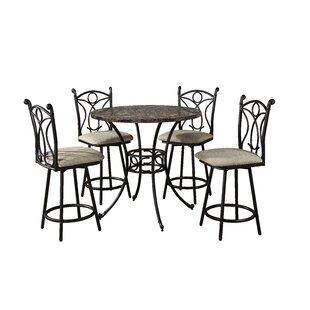 Armetta 5 Piece Pub Table Set