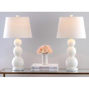 Bedroom Night Table Lamps Sets | Wayfair