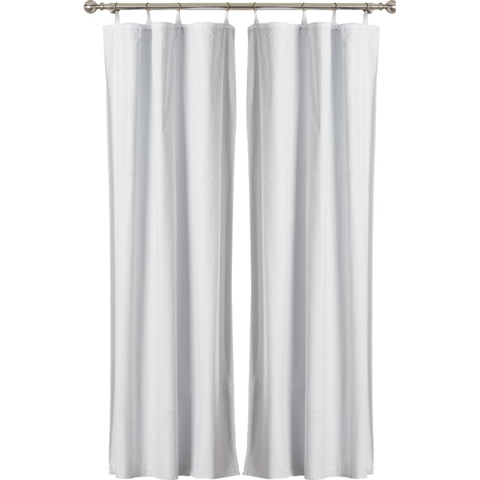Solid Max Blackout Thermal Single Curtain Liner