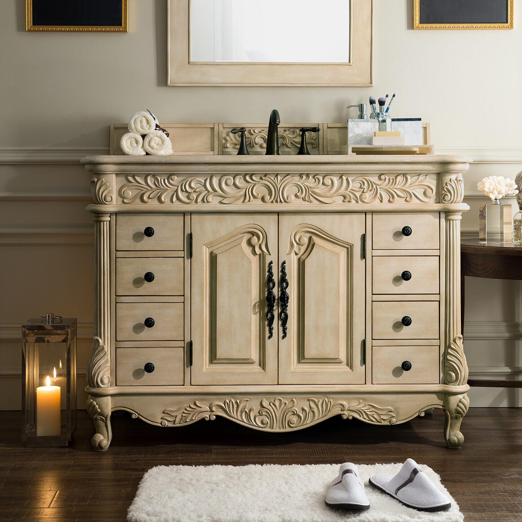 Perfect Light Colored Wood Bathroom Vanity  Home Design Ideas