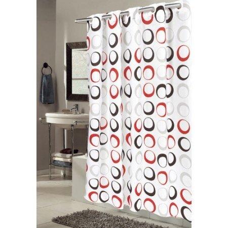 EZ ONR Circles Shower Curtain