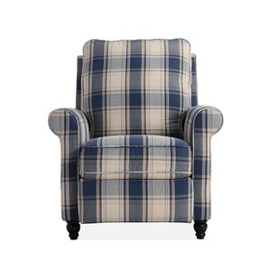 Push Recliner  sc 1 st  Wayfair & Blue Patterned Recliners Youu0027ll Love | Wayfair islam-shia.org