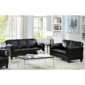 black living room furniture set. Newport 2 Piece Living Room Set Black Sets You ll Love  Wayfair