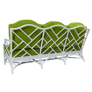Chippendale Patio Sofa With Cushions