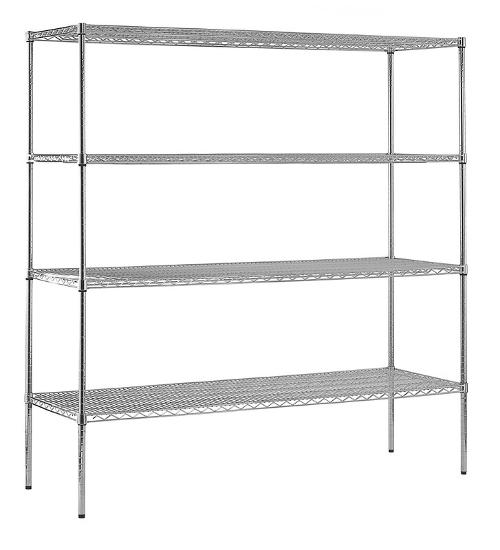 Sandusky Heavy Duty Shelf Wire Shelving Unit & Reviews | Wayfair