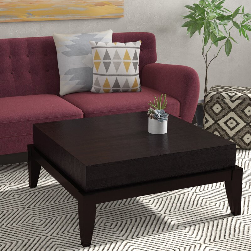 Square Coffee Table By Latitude Run: Latitude Run Seabrook Coffee Table & Reviews