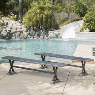Outdoor table and bench set wayfair save to idea board watchthetrailerfo