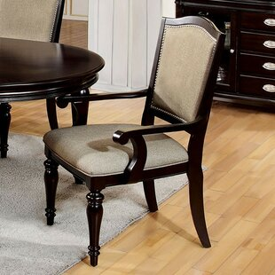 Portola Upholstered Dining Chair (Set Of 2) Great price