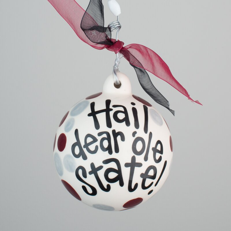 Mississippi State Cowbell Ball Ornament - Glory Haus Mississippi State Cowbell Ball Ornament Wayfair