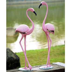 Flamingo Pair Statue