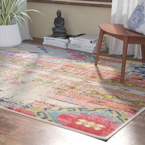 Newburyport Beige/Orange Area Rug