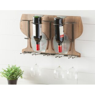 Paulson 5 Bottle Wall Mounted Rack