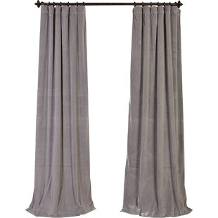 Gray & Silver Curtains + Drapes