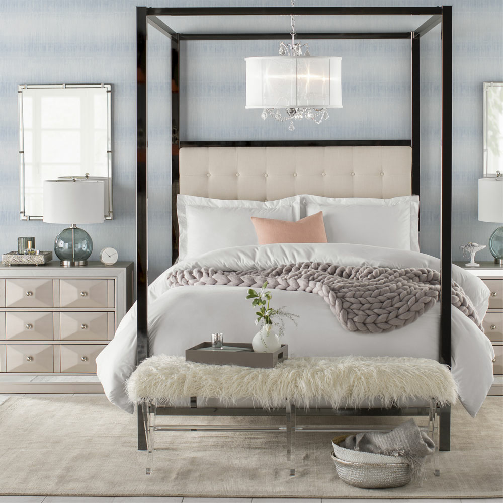 Glam bedroom furniture