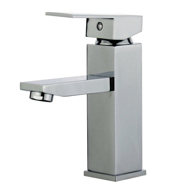 Granada Single Hole Bathroom Faucet With Drain Assembly