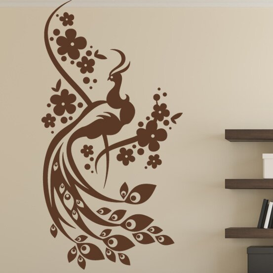 Peacock Wall Decal