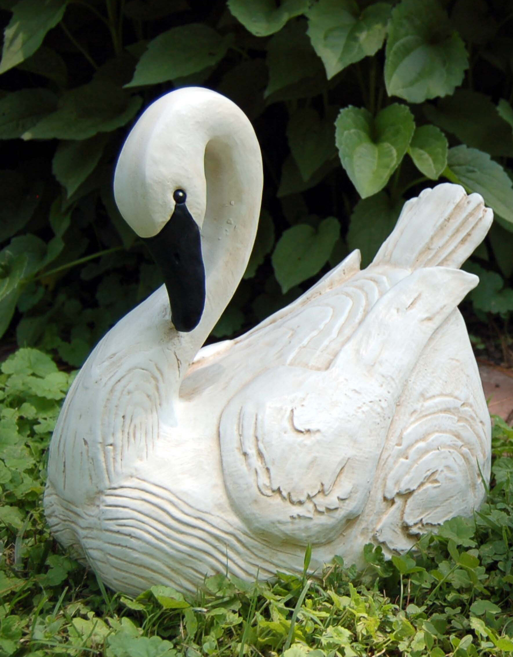 The Sleeping Swans >> Craft Tex Sleeping Swan Figurine Reviews Wayfair