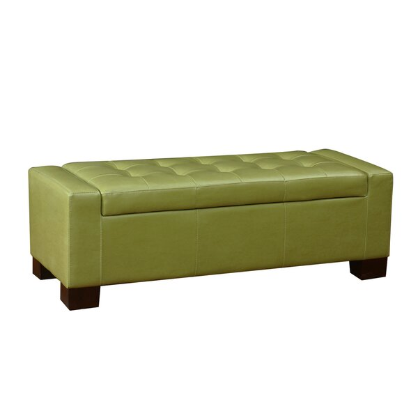 AdecoTrading Large Accents Rectangular Tufted Storage Ottoman & Reviews |  Wayfair - AdecoTrading Large Accents Rectangular Tufted Storage Ottoman