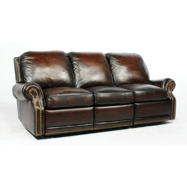 sc 1 st  Wayfair & Barcalounger Premier ll Leather Reclining Sofa u0026 Reviews | Wayfair islam-shia.org