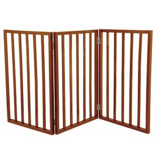 Halton Freestanding Wooden Pet Gate