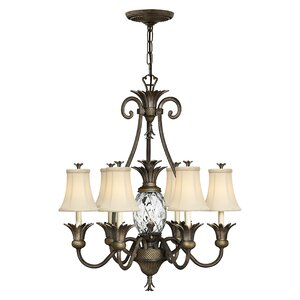 Terry 7-Light Shaded Chandelier