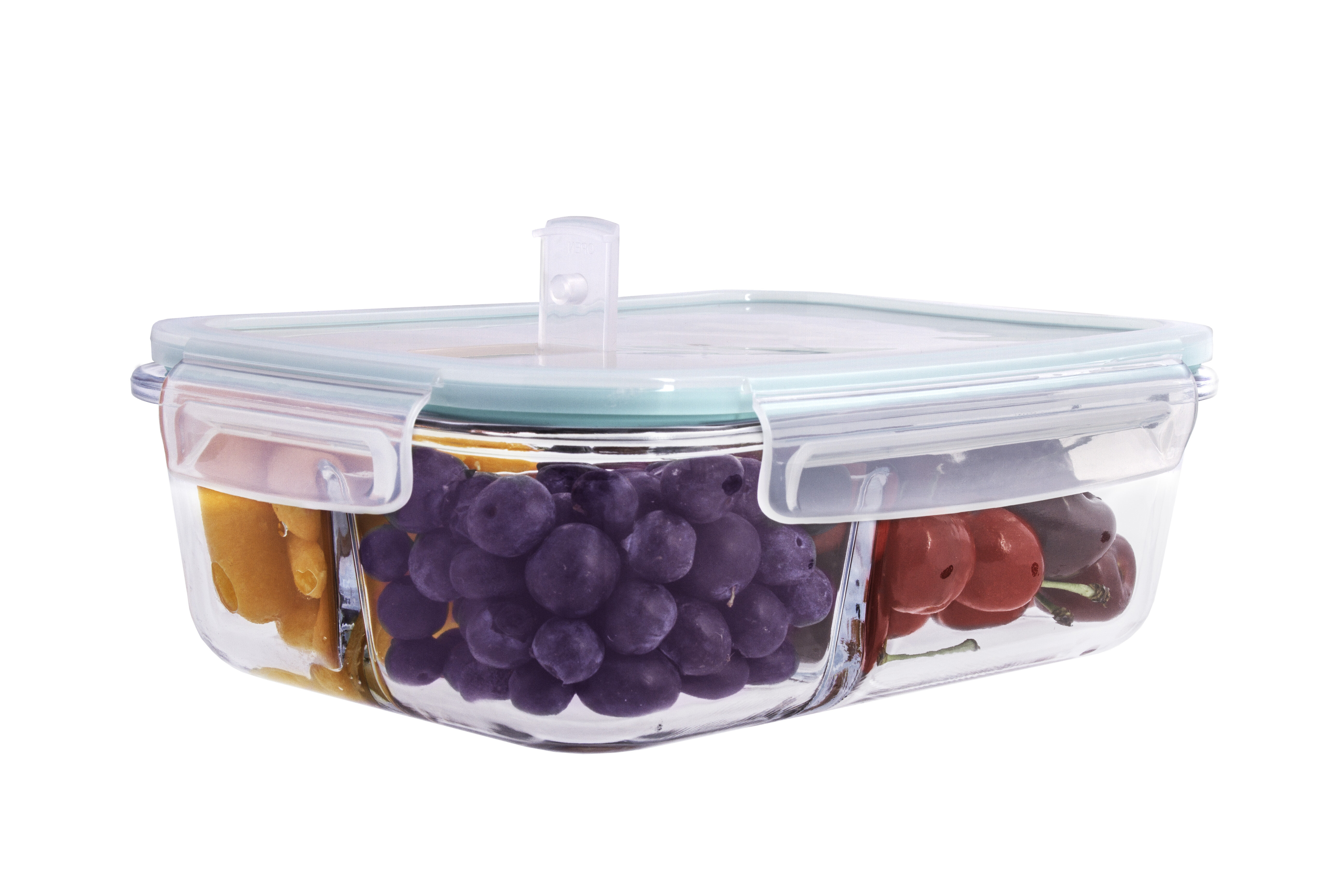 Rebrilliant Modern Glass Meal Prep 35 Oz Food Storage Container