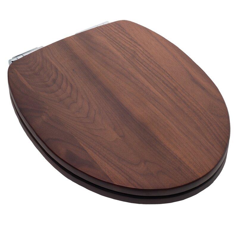 solid wood slow close toilet seat. EZ Close Elongated Toilet Seat Comfort Seats  Reviews Wayfair