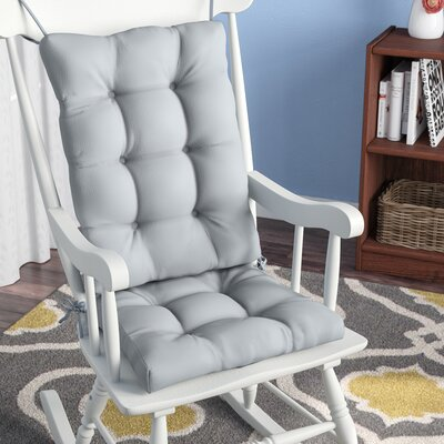 2 Piece Indoor Rocking Chair Cushion