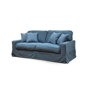 Blue Slipcovered Sofas Youu0027ll Love In 2019 | Wayfair
