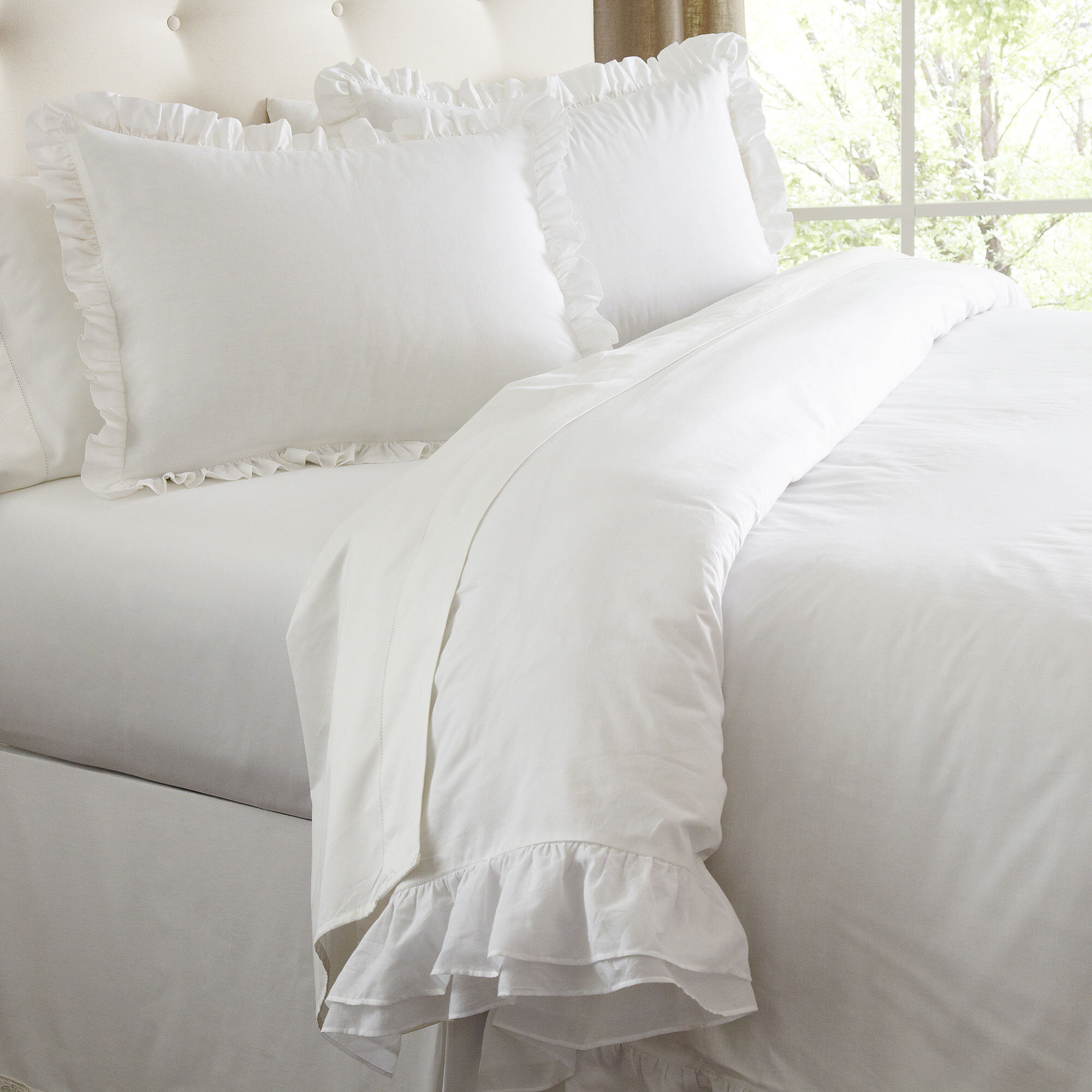 stella pale comforter white by reversible floral blue p ruffle piper set bedding wright