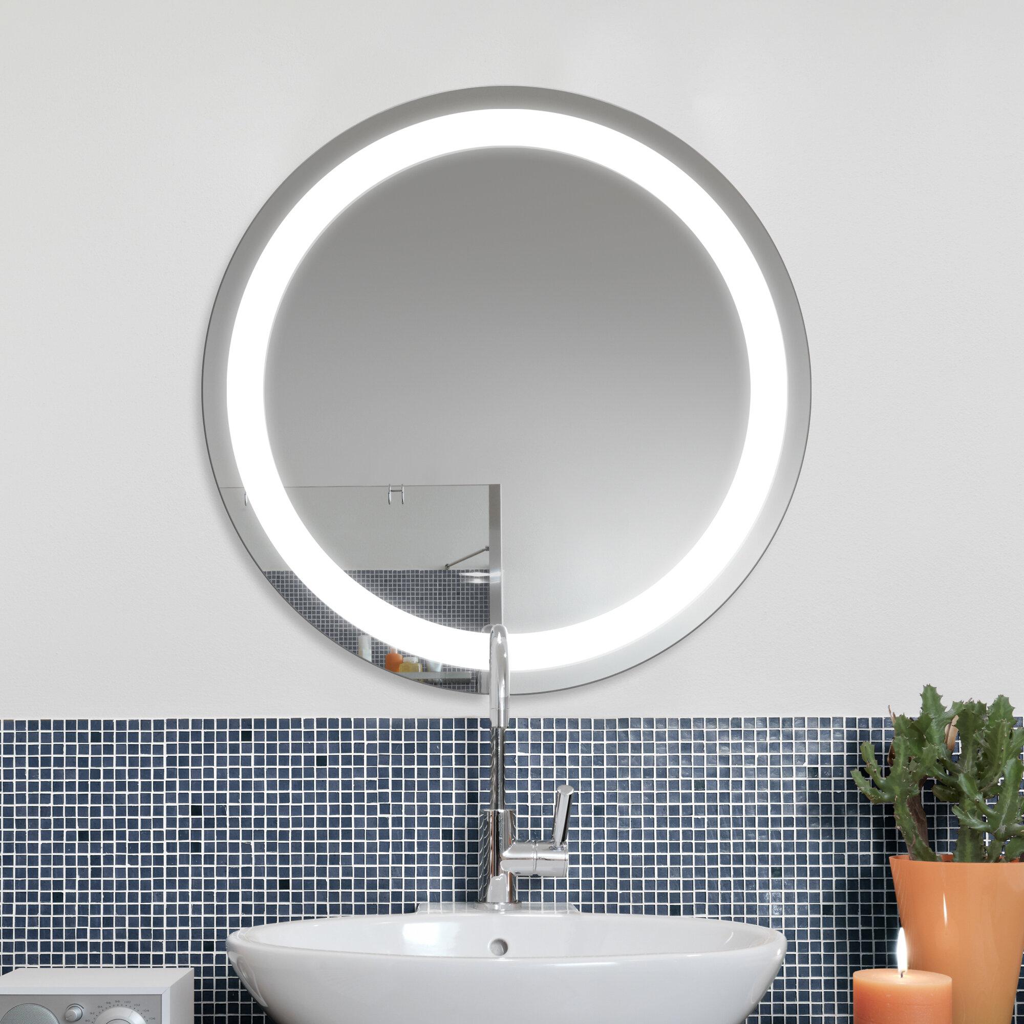 Ruke Jupiter LED Illuminated Bathroom Mirror | Wayfair.co.uk