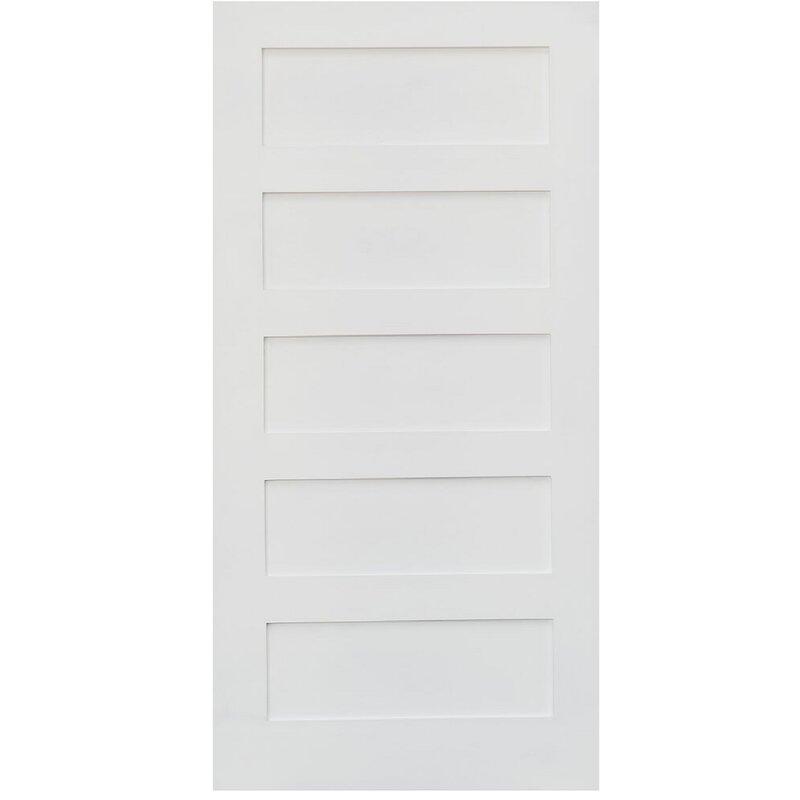 5 Panel Interior Doors Youll Love Wayfair