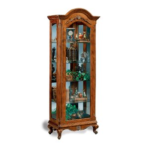 Charlemagne Lighted Curio Cabinet by Phil..