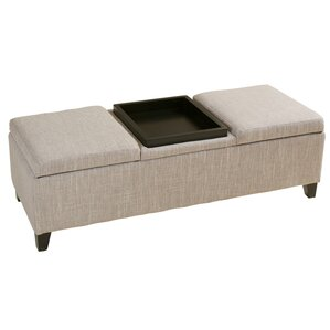 Henderson Storage Ottoman by Home Loft Conce..