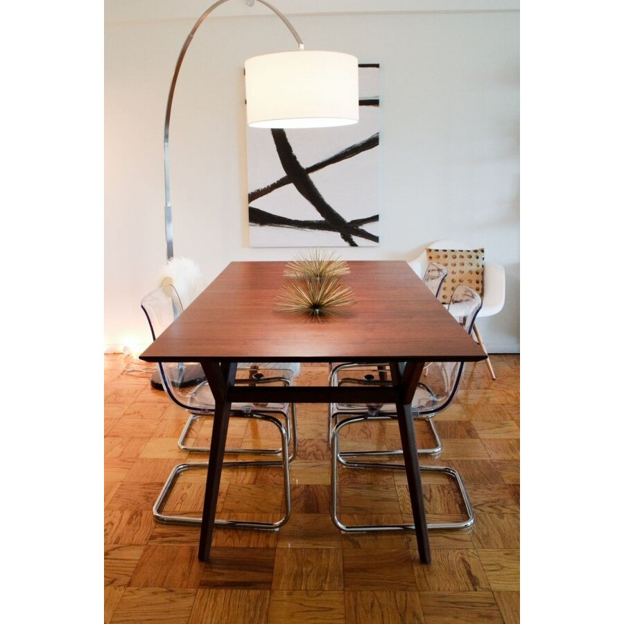 Arc floor lamp dining table - Arched Floor Lamp