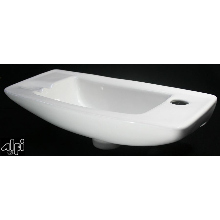 "Alfi Brand Small 18"" Wall Mount Bathroom Sink & Reviews"