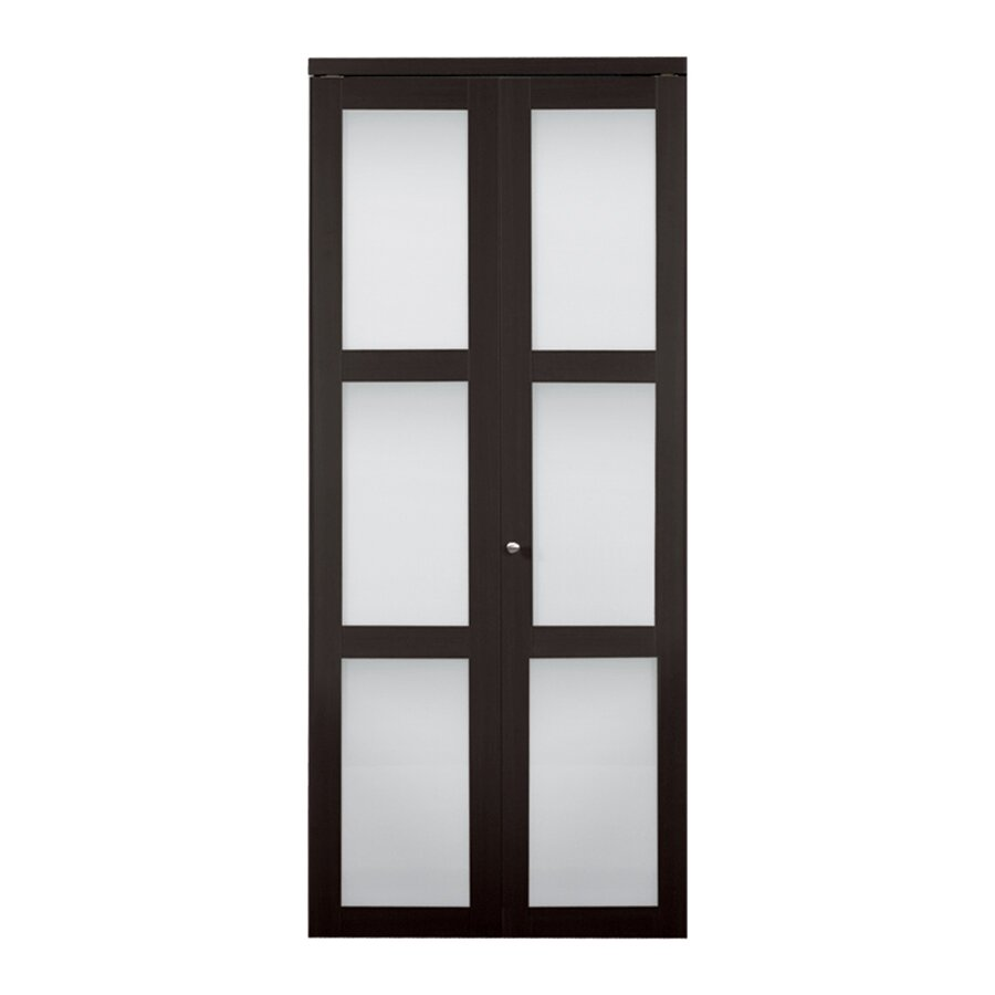 2 Panel Bifold Doors : Erias home designs baldarassario wood panel painted bi