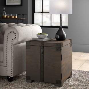 Eustace End Table With Storage
