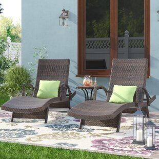 Wicker Chaise Lounges You Ll Love Wayfair