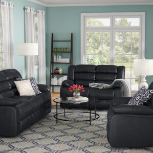 Hamlin 3 Piece Living Room Set by Red Barrel Studio
