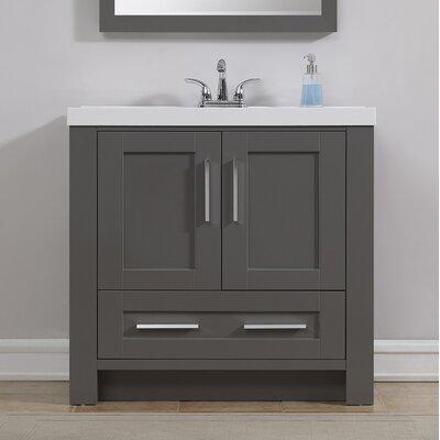 Cutler Kitchen Bath Silhouette Single Bathroom Vanity Set - Bathroom vanities virginia beach