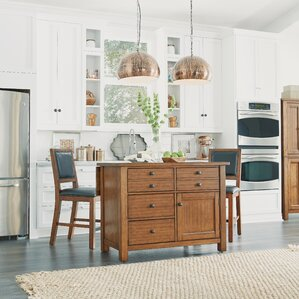Hurst Kitchen Island Set by Loon Peak