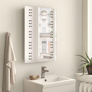 Jakayla Vanity Mirror With Shaver Socket By Belfry Bathroom