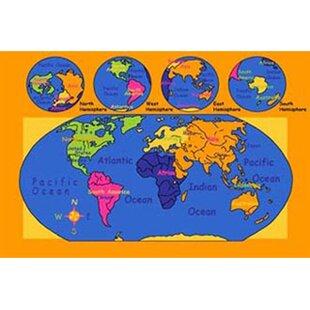 World map area rug wayfair world map area rug gumiabroncs Image collections