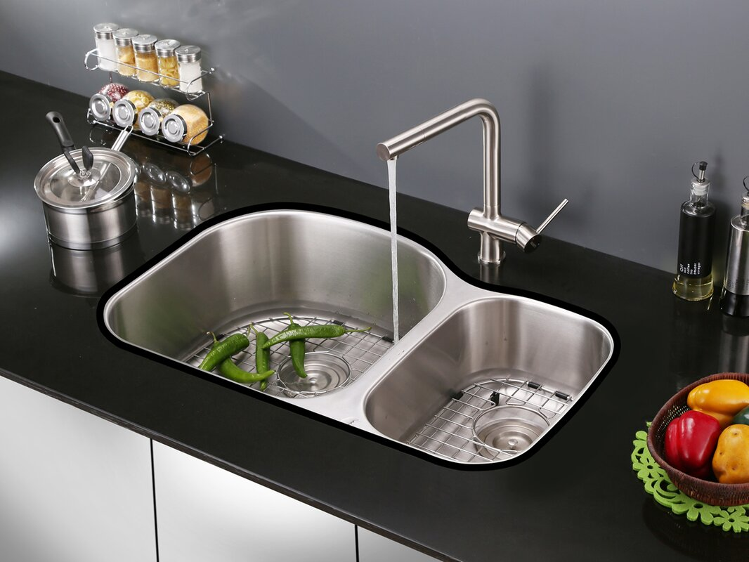 ruvati cascada single handle kitchen faucet u0026 reviews wayfair